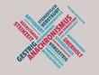 Das Wort - Anachronismus - abgebildet in einer Wortwolke mit zusammenhängenden Wörtern - 221929214