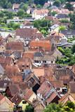 Obernai. Vue panoramique sur la ville, Bas-Rhin, Alsace. Grand Est - 221978433