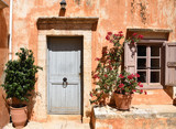 Old town streets of Crete, Greece - 221985243