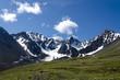 Yukon snowy mountains