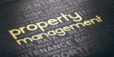 Real Estate and Property Management Background - 221987895