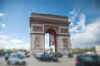 triumphal arch on the Champs Elysées