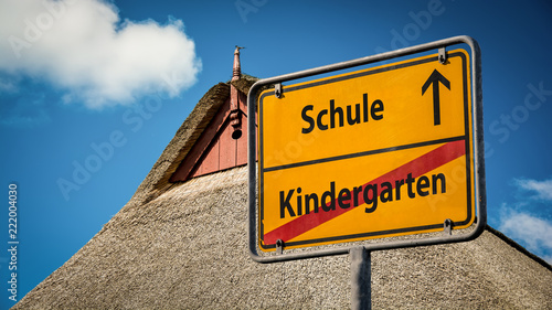 Schild 359 - Schule
