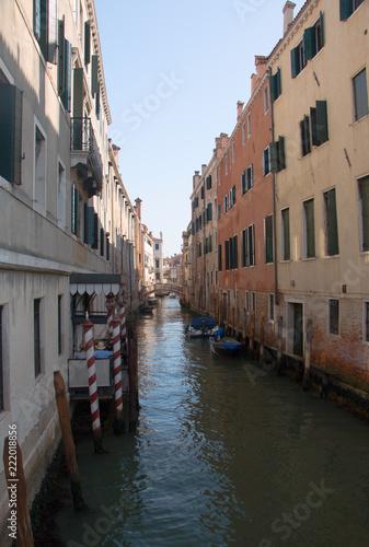 Fototapeta Canals of Venice, Italy.