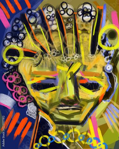 Abstract, Surreal Digital Painting