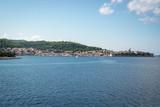 The view from Korcula island, Croatia - 222028822