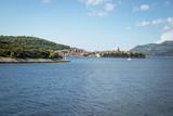 The view from Korcula island, Croatia - 222028877
