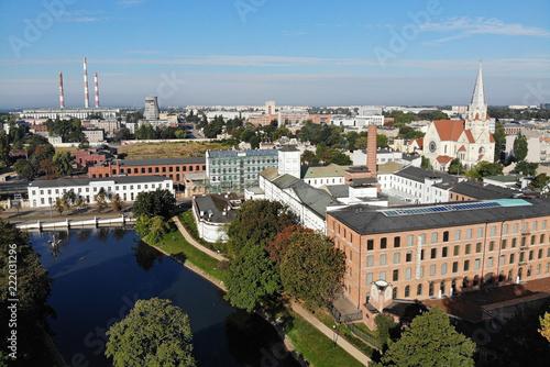 Łódź, Polska. Biała Fabryka.