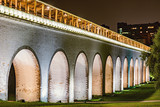 Night view of the aqueduct. - 222039479