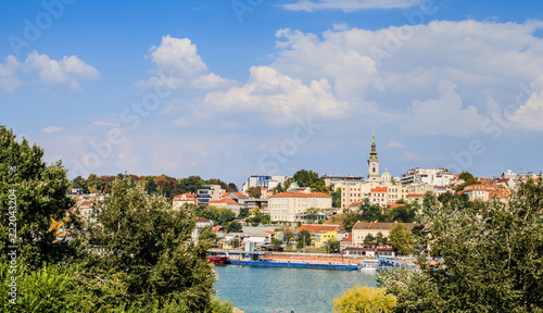 Poster Panoramic View Of Belgrade Serbia