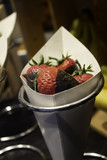 Strawberries with chocolate - 222060082