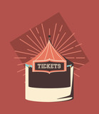 tickets store icon - 222066407