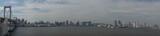 Tokio Rainbow Bridge Panorama