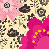 decorative flowers natural floral background - 222095200