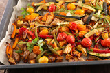 roasted vegetable and herbs - 222096439
