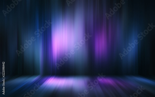 Abstract light effect texture blue pink purple wallpaper 3D rendering - 222098442