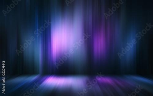 Obraz na płótnie Abstract light effect texture blue pink purple wallpaper 3D rendering