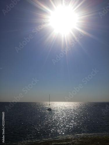 Żagłówka w zatoce - 222098660