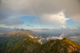 rainbow over the mountains - 222100046