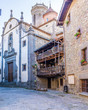 Leinwanddruck Bild - Beautiful ancient village of Rupit (Catalonia, Spain)