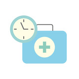 medical suitcase first aid emergency time clock - 222105817