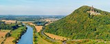 Schöner Blick über die Weser und zum Kaiser-Wilhelm-Denkmal - 222108431
