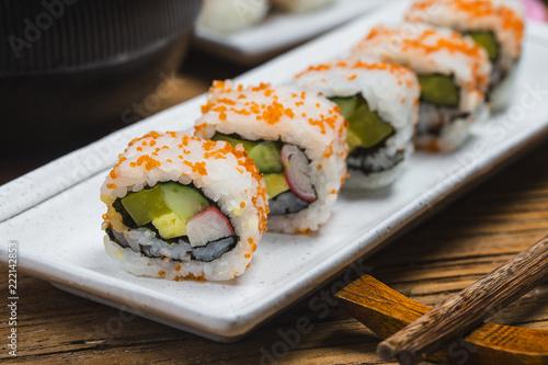 Sushi ,Japanese food. - 222142853