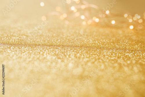 Złoto i srebro błyszczące tło