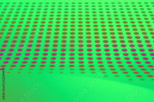 Leinwandbild Motiv An enlarged image of the plastic panel of the monitor.