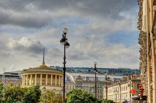 Foto Murales St Petersburg landmarks, Russia