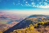 View from mount Menara, Upper Galilee, north Israel