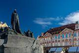 Jan Hus Memorial in Prague - 222159470