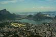 Quadro Aerial view of Rio de Janeiro touristc attractions