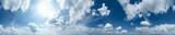 Fototapeta Fototapety na sufit - 360° Himmelspanorama © apfelweile
