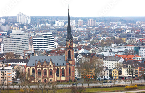 Historic church  in Frankfurt am Main - 222167642