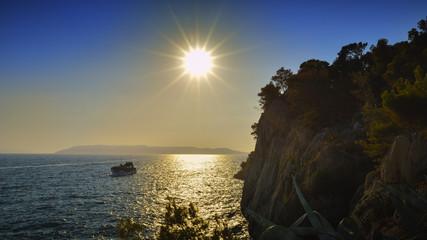 Sunset at Makarska - Croatia © Moian Adrian