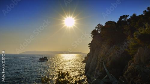 Sunset at Makarska - Croatia - 222170268