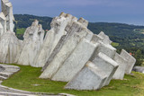 Fighters Workers Battalion Monument on Kadinjaca, Serbia - 222172419