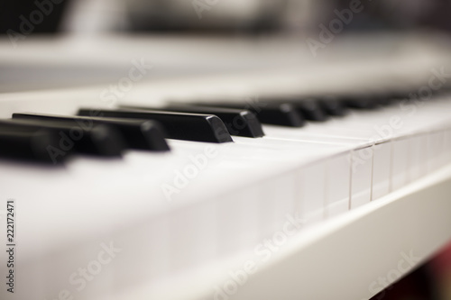 Piano keyboard - 222172471
