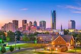 Oklahoma City, Oklahoma, USA Skyline - 222178600