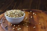 Coriander seeds spice - 222187694
