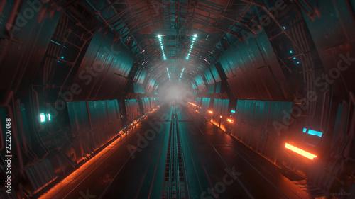 sci fi tunnel - 222207088