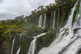 Iguazu falls, are waterfalls of the Iguazu River on the border of the Argentine province of Misiones and the Brazilian state of Paraná. Together, they make up the largest waterfall system in the world