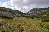Hiking trail in the mountains