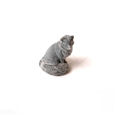 toy figurine of a marbled fox on a white background - 222222821