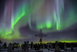 Ghostly northern lights