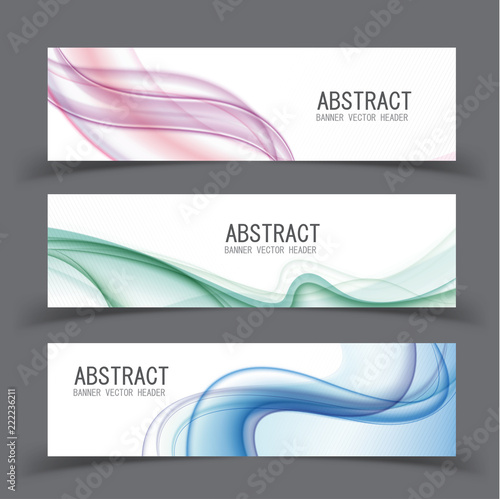 Poster Vector abstract design banner template.vector illustration.
