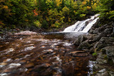 Mary Ann Falls on the Cabot Trail in autumn