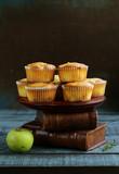 apple muffins dessert, healthy food - 222256665