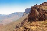 Mountain landscape in Gran Canaria